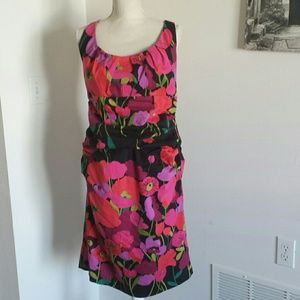Suzi Chin for Maggy Boutique dress with poppies